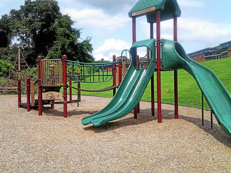 The playground at Bear Path Elementary School is one of four that will see renovations through grant funding-Register Photo Ebony Walmsley Photo: Journal Register Co.