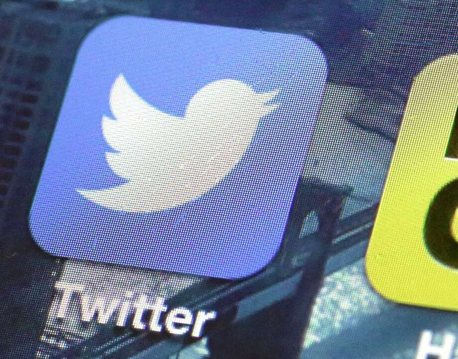 A Twitter app on an iPhone screen. Photo: Richard Drew — The Associated Press   / AP