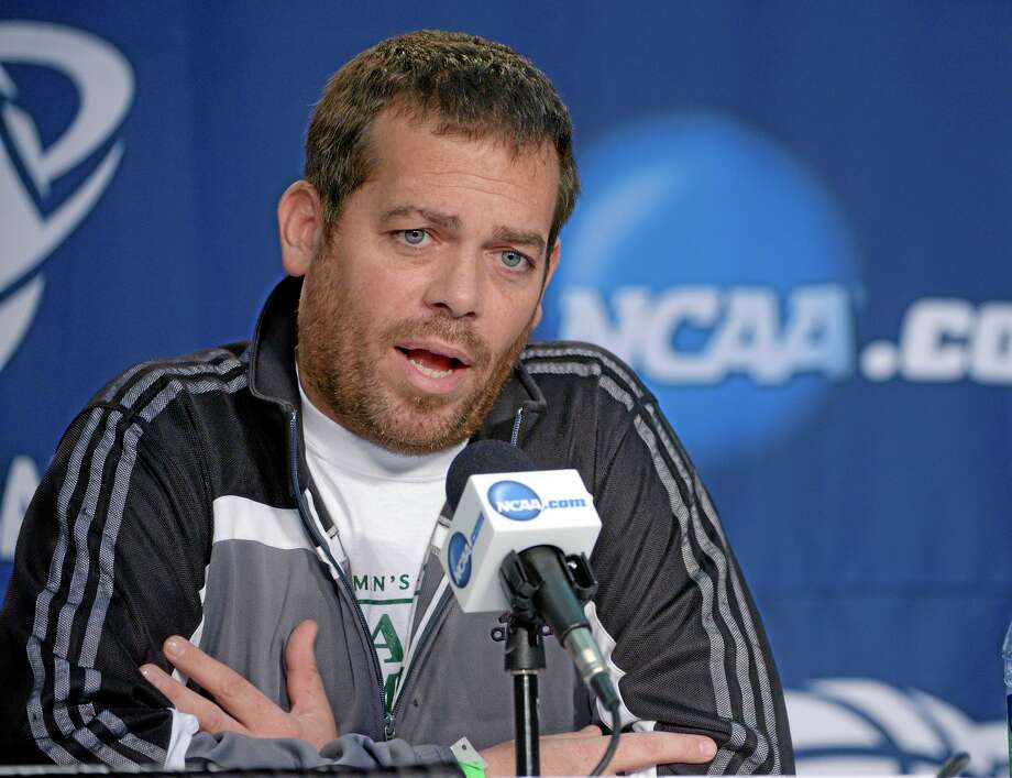 Steve Masiello is out as the South Florida men's basketball coach because he does not have a college degree. Photo: Phelan Ebenhack — The Associated Press   / FR121174 AP