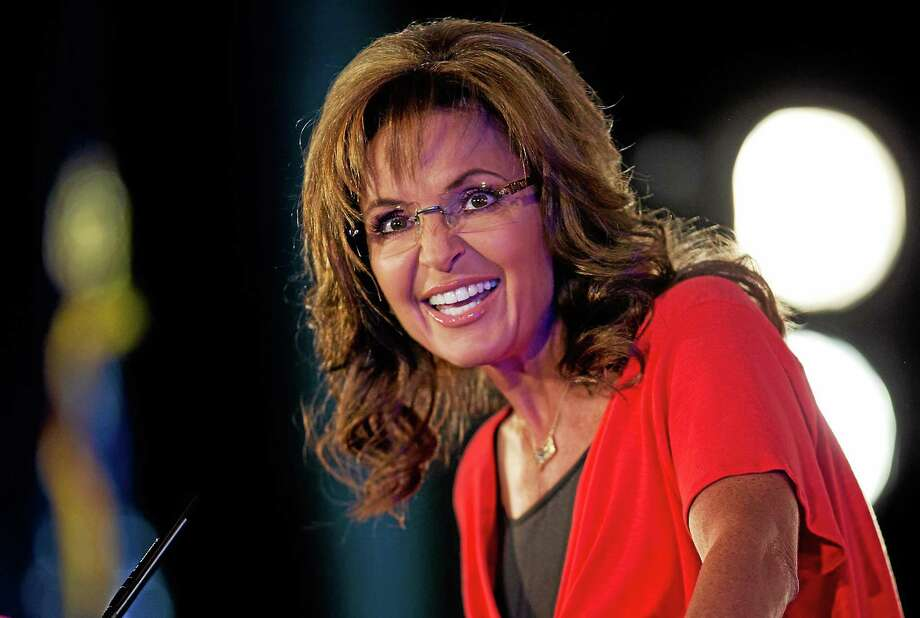 In this June 15, 2013 photo, Sarah Palin speaks during the Faith and Freedom Coalition Road to Majority 2013 conference in Washington. Photo: AP Photo/Carolyn Kaster, File   / AP