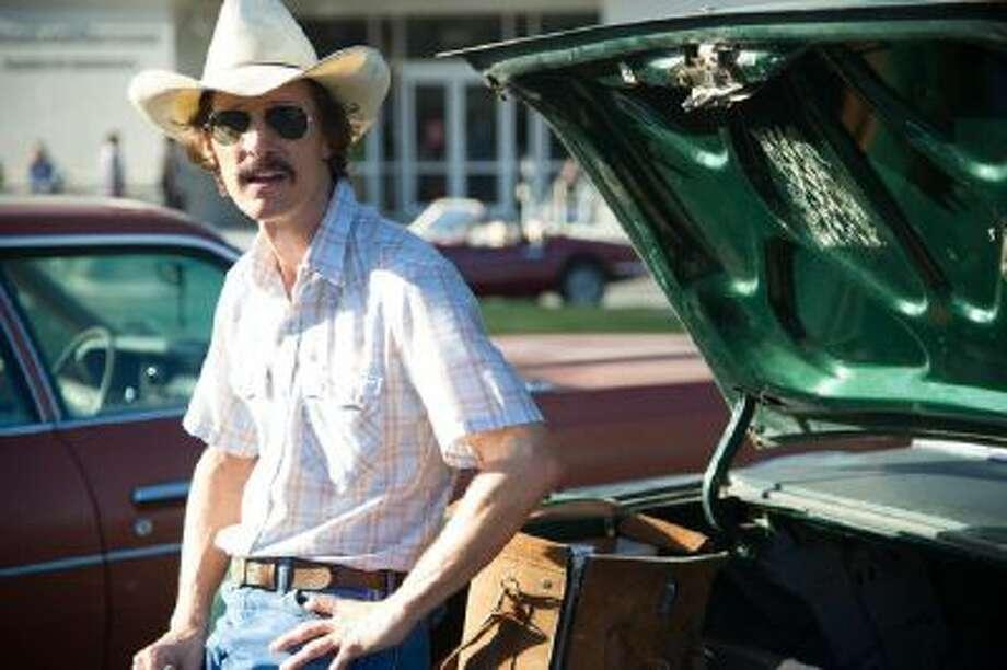 Matthew McConaughey as Ron Woodroof in 'Dallas Buyers Club.'