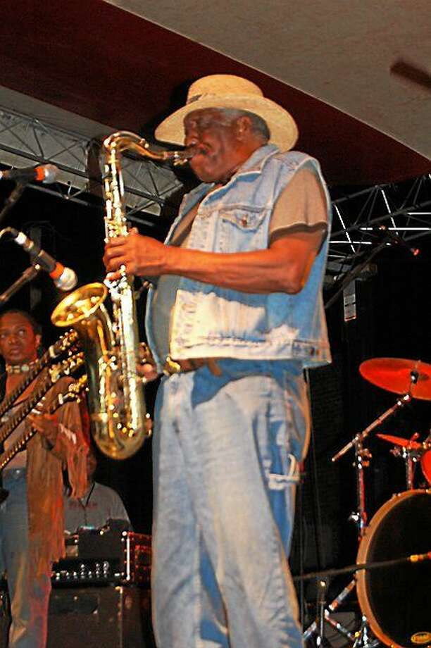 Submitted photo courtesy of Dom Forcella  Eddie Shaw's playing at Cafe 9 on Friday, Sept. 26. Photo: Journal Register Co.