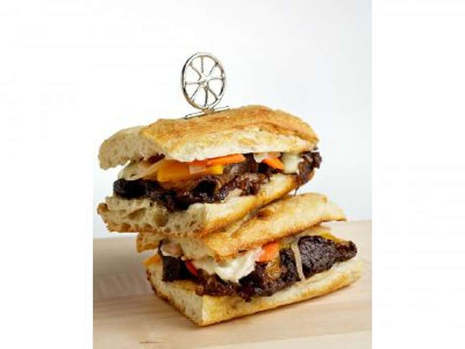 Beer-Braised Short Rib Sandwiches.