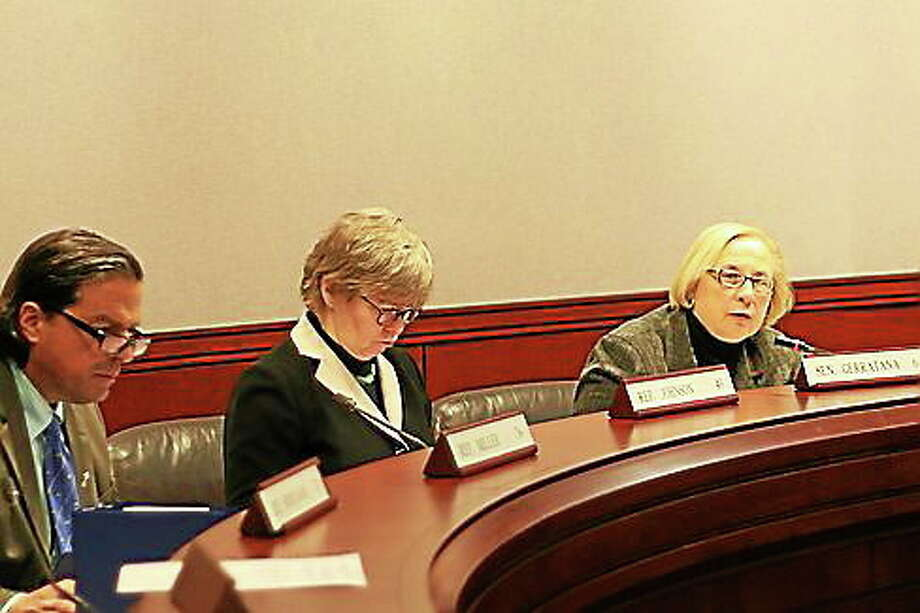 The Connecticut legislature's Public Health Committee. Photo: Photo Courtesy Of CT News Junkie