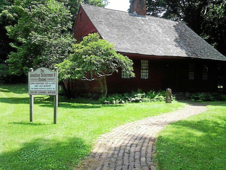 The historic Dickerman House in Hamden. Photo: Ebony Walmsley — New Haven Register