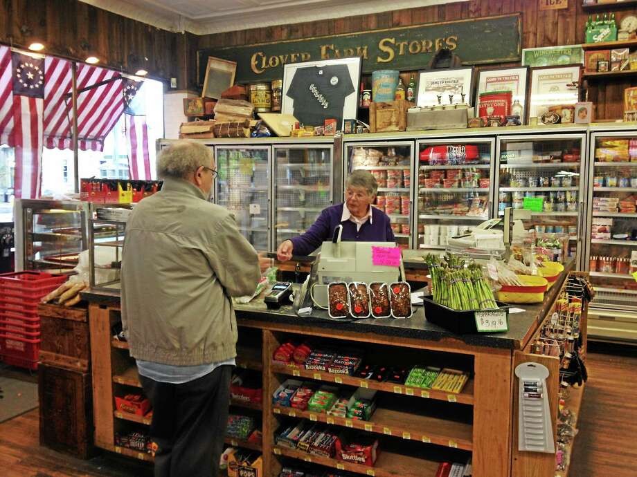 The Guilford Food Center has been in business since 1969, when brothers Bill and Walt Rosa bought the grocery store, which used to be a First National grocery store. Photo: Kristin Stoller — New Haven Register