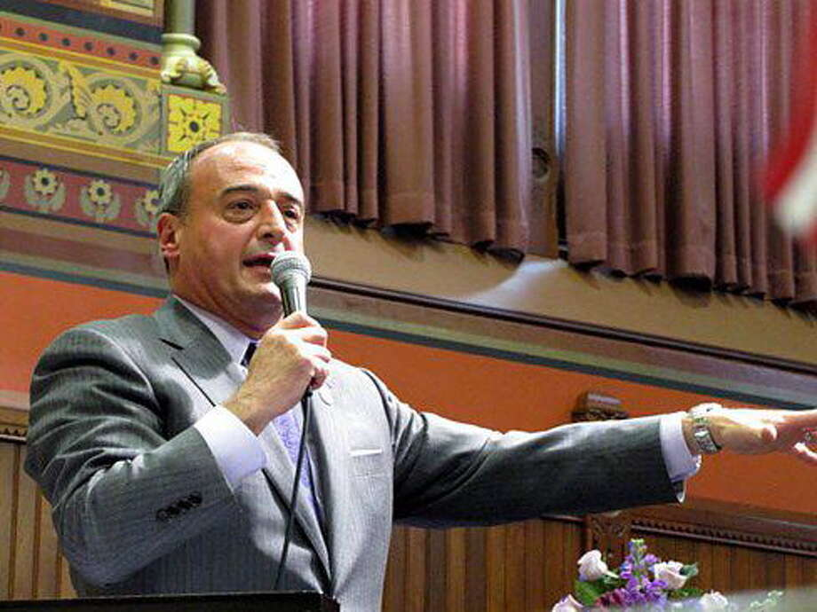 CT NewsJunkie file photo  House Minority Leader Lawrence Cafero Photo: Journal Register Co.