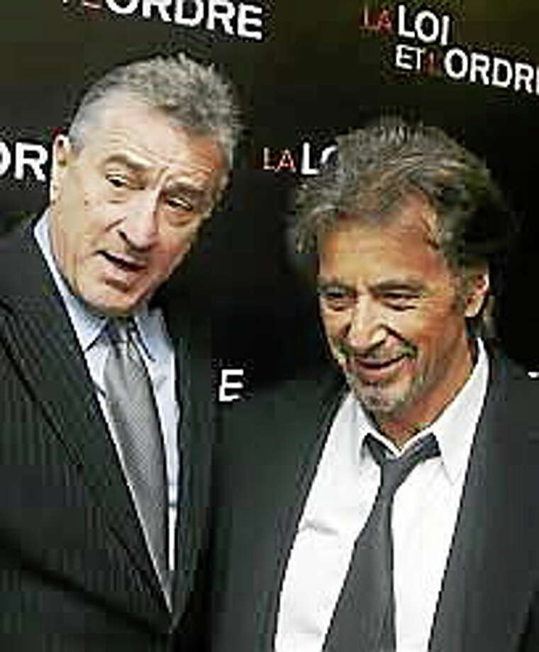 """Robert De Niro and Al Pacino shot part of their 2008 film """"Righteous Kill"""" in Milford's Star Cafe. Photo: THE ASSOCIATED PRESS"""