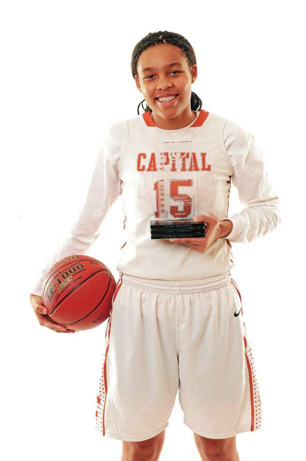 Capitol Prep's Kiah Gillespie made a strong impression at the U.S. Under-17 trials in Colorado. Photo: Register File Photo