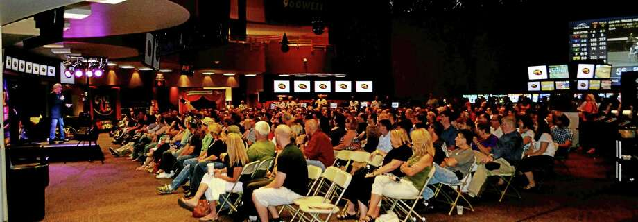 A view of a comedy event held at Sports Haven last year. Photo: Treehouse Photo