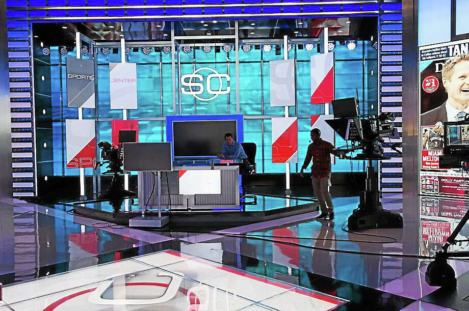 ESPN recently unveiled its new, state-of-the-art, $178 million Digital Center 2 at its headquarters in Bristol. Photo: Photo Courtesy Of ESPN