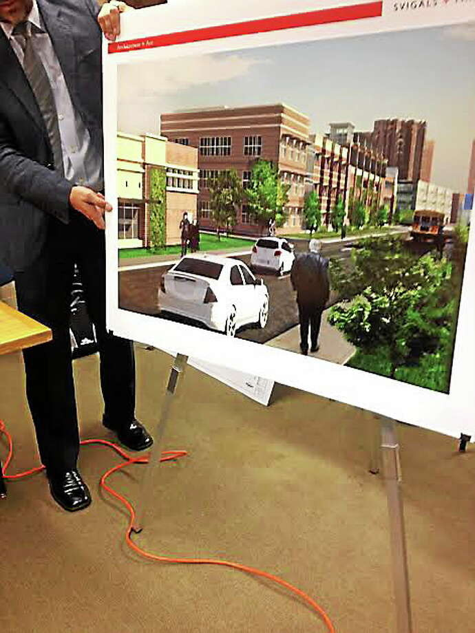 Rendering of proposed Continuum of Care project along Route 34. Photo: Mary O'Leary/New Haven Register