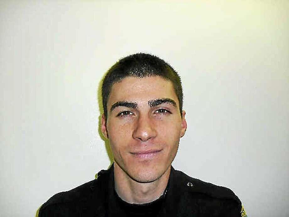 Officer John Finnimore Photo: Journal Register Co.