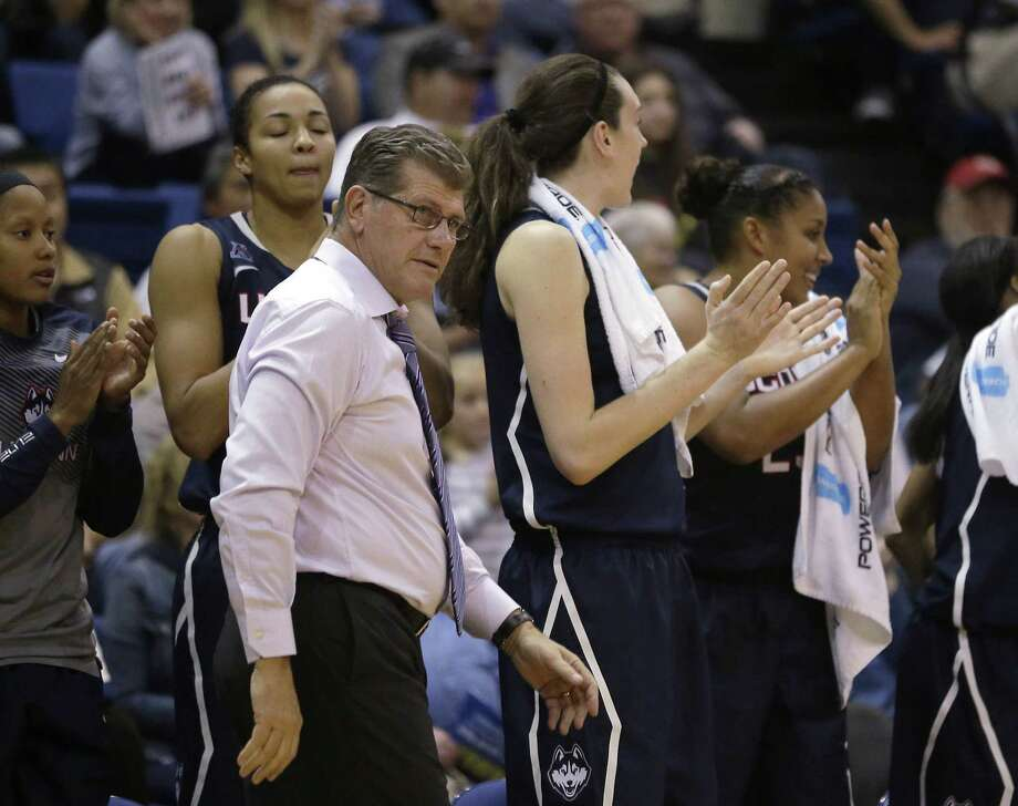 Geno Auriemma and the UConn women's basketball team will take on non-conference rival Stanford Monday night. Photo: The Associated Press File Photo   / AP