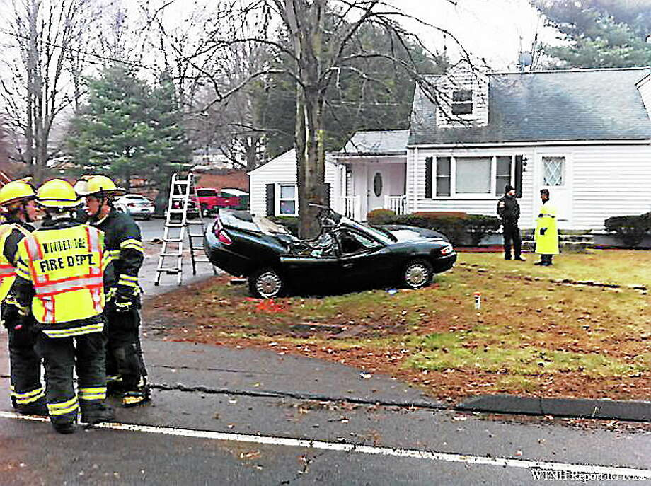 WTNH photo from a viewer Photo: Journal Register Co.