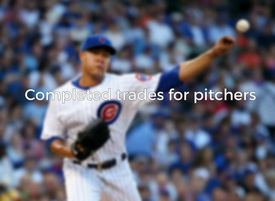 COMPLETED TRADES FOR PITCHERSHere are the pitchers who already have been traded this month. Photo: Getty Images