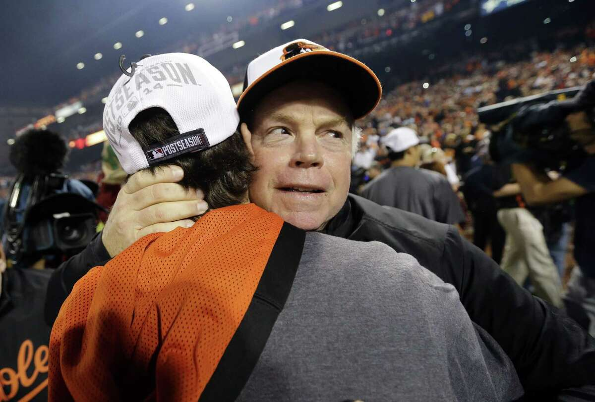 Baltimore Orioles manager Buck Showalter was chosen American League Manager of the Year.
