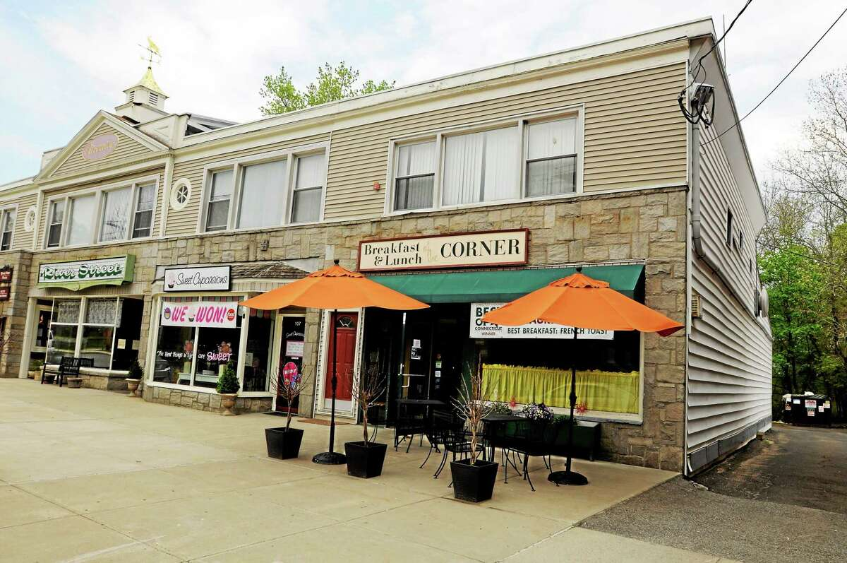 The Corner restaurant on River Street in Milford.