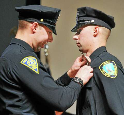Milford Police Academy holds graduation, puts 35 cops on the