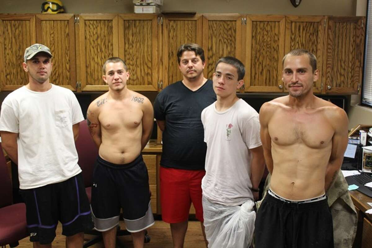 Five Magnolia suspects were arrested in a June 21 drug bust at 5412 FM 1488. The narcotics search warrant turned up pills, weed and $13,000 in cash, investigators said in a release.