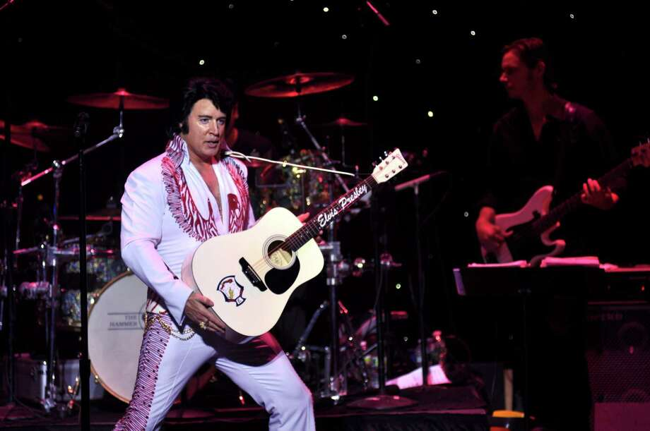 Contributed photo  Doug Church as Elvis. Photo: Journal Register Co.