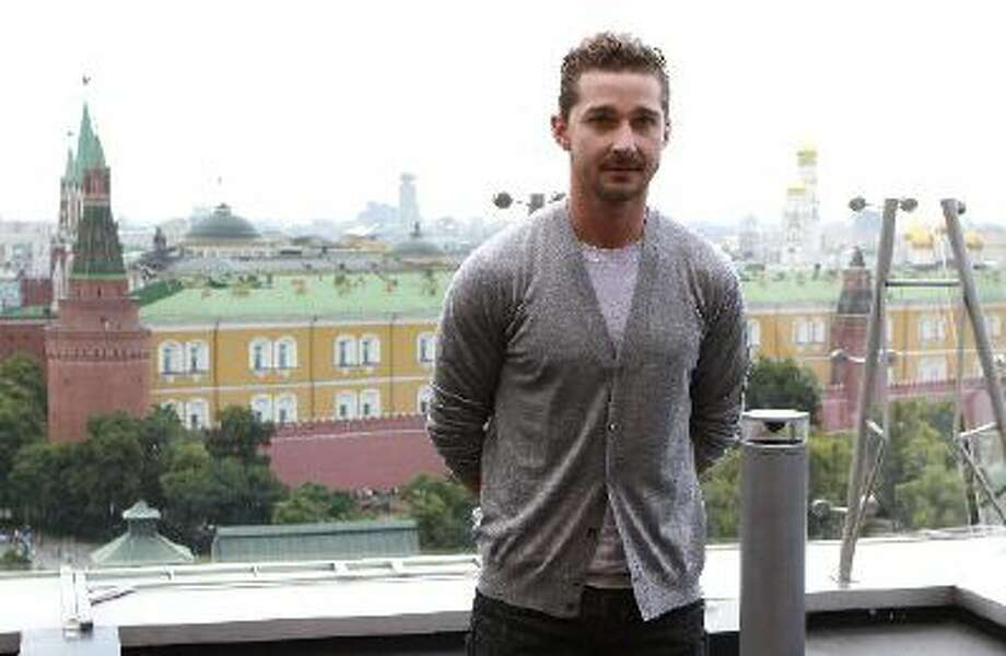 """In this Thursday, June 23, 2011 file photo actor Shia LaBeouf poses during a photo call for the world premiere of Hollywood blockbuster """"Transformers: Dark of the Moon,"""" in Moscow."""
