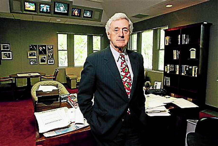 FILE - This April 20, 1994 file photo shows longtime newspaper executive John Seigenthaler in his office at the Freedom Forum First Amendment center which he founded in Nashville, Tenn. Seigenthaler, the journalist who edited The Tennessean newspaper, helped shape USA Today and worked for civil rights during the Kennedy administration, died Friday, July 11, 2014. He was 86. (AP Photo/Mark Humphrey, File) Photo: AP / AP
