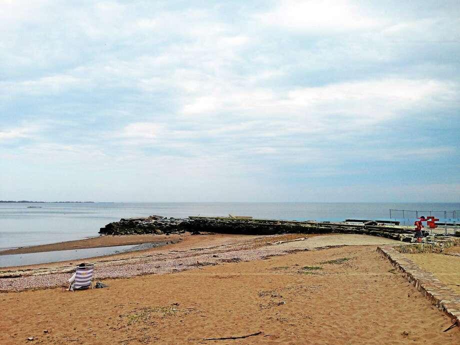 East Wharf Beach in Madison. Photo: Sean Carlin — New Haven Register