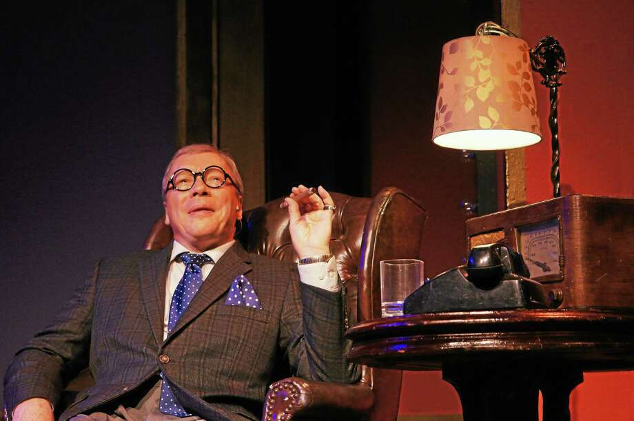 """R. Bruce Connelly masters all of the George Burns trademark mannerisms in """"Say Goodnight, Gracie."""" Photo: Ivoryton Playhouse"""