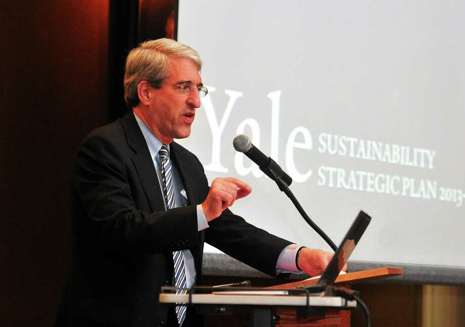 Yale President Peter Salovey Photo: NEW HAVEN REGISTER FILE PHOTO