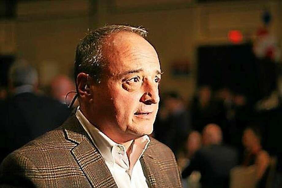 House Minority Leader Larry Cafero. Hugh McQuaid - CTNewsJunkie Photo: Journal Register Co.