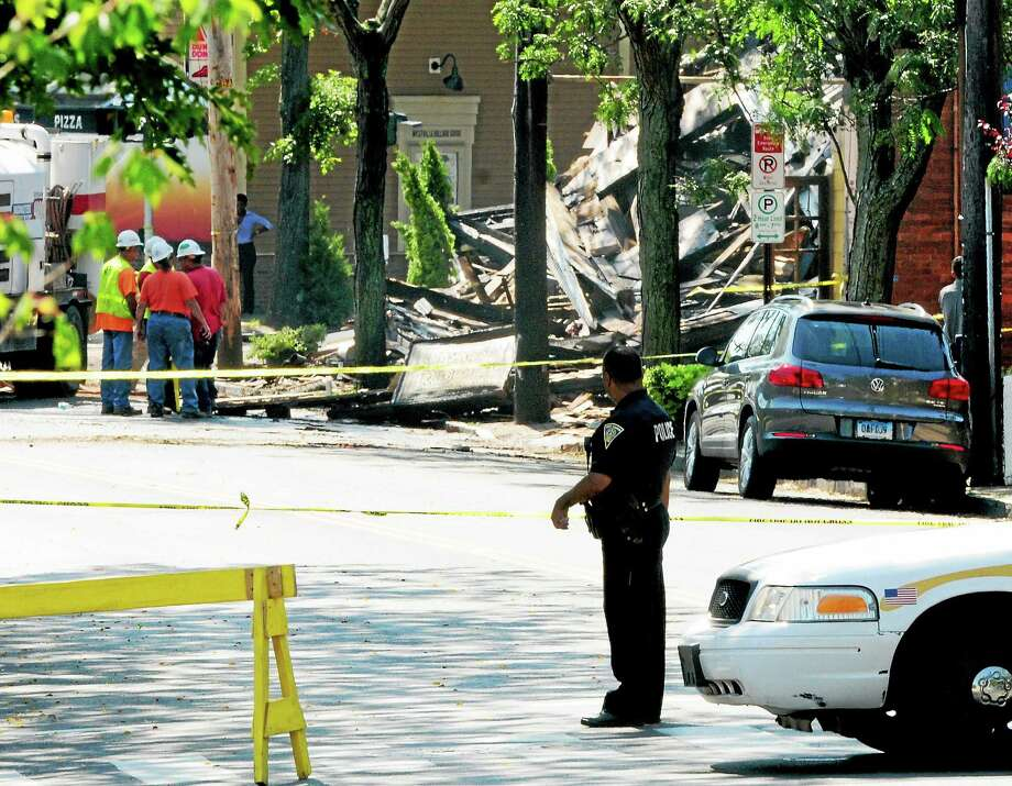 Delaney's Tap Room fire aftermath, Whalley Ave. Westville Tuesday, August 26, 2014. Photo: (Peter Hvizdak — New Haven Register)   / ©2014 Peter Hvizdak