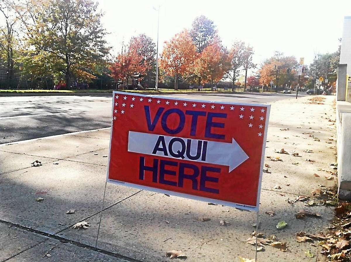A steady stream of voters reported in New Haven's Ward 6. Helen Bennett - New Haven Register