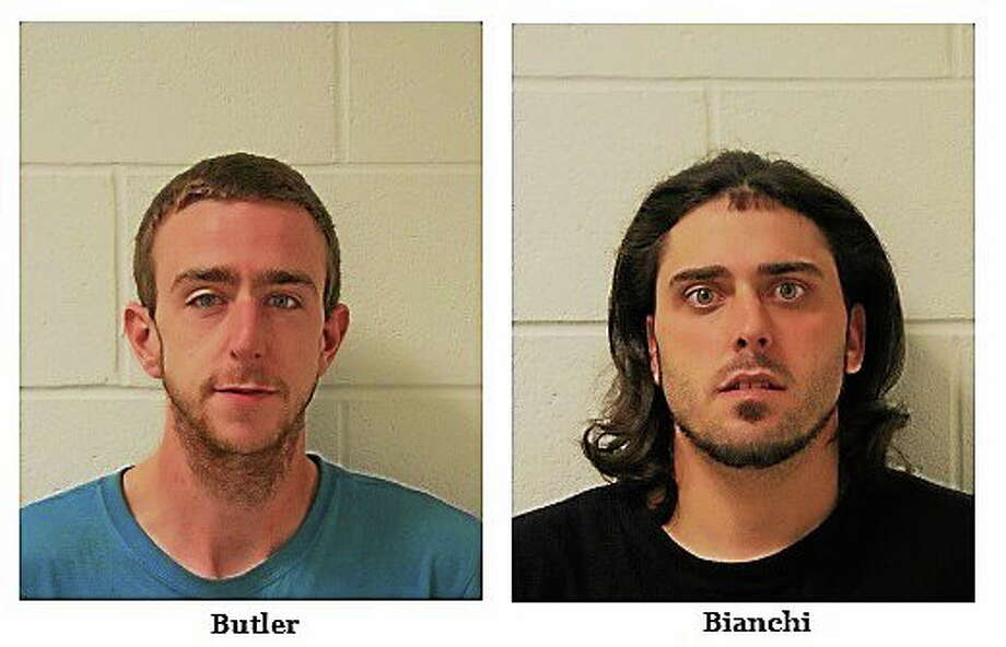 Jack Butler and Michael Bianchi. Photos provided by the Branford Police Department. Photo: Journal Register Co.