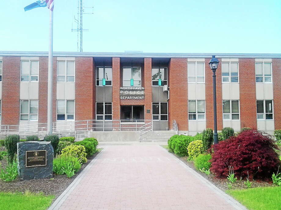 File photo: North Haven Police Department headquarters. Photo: Journal Register Co.