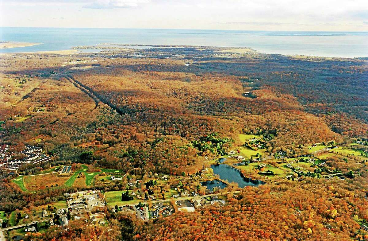 The Preserve from an aerial shot.