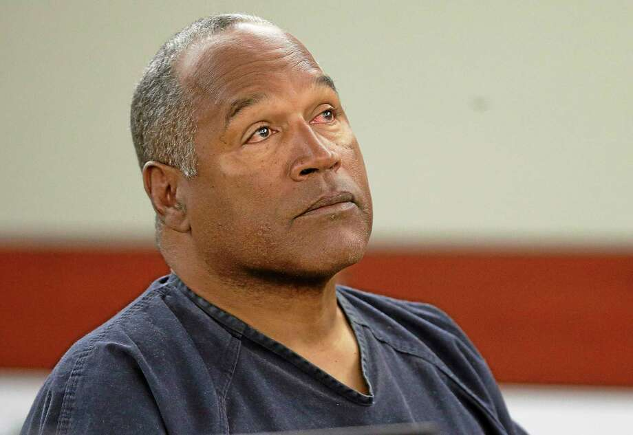 AP file photo  This May 13 photo shows O.J. Simpson listening to testimony at an evidentiary hearing in Clark County District Court in Las Vegas. Photo: AP / Pool AP