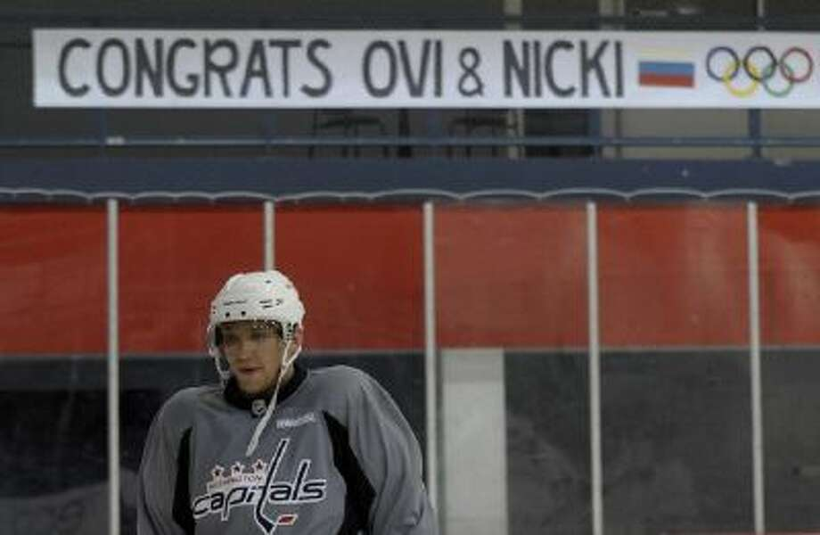 Alex Ovechkin will be one of Russia's biggest stars during the Sochi Olympics.