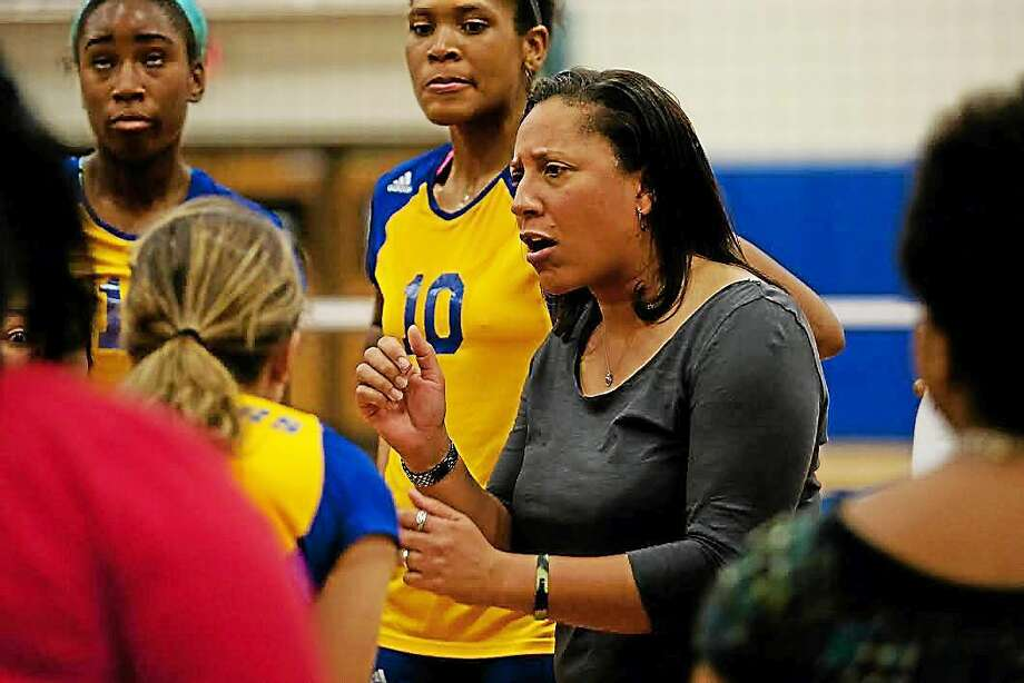 University of New Haven women's volleyball coach Robin Salters has announced her retirement.  Photo: Submitted Photo   / (C)2011 David W. Hahn-CSI: Photo