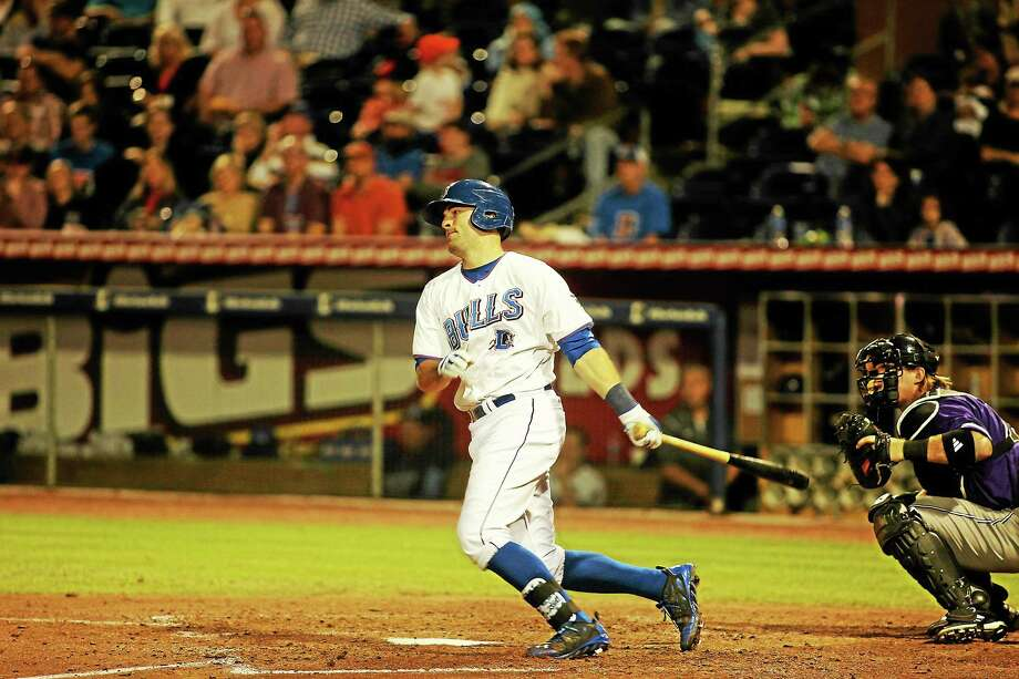 New Canaan's Curt Casali has made his way to Triple-A in the Tampa Bay Rays' organization. Photo: Photo Courtesy Of Brian Fleming Photography