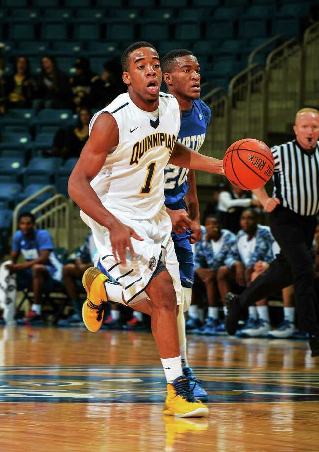 Zaid Hearst and Quinnipiac will face Niagara in the MAAC tournament quarterfinals on Saturday night in Springfield, Mass. Photo: Photo Courtesy Of Quinnipiac Athletics   / Copyright John Hassett 2013. All rights reserved