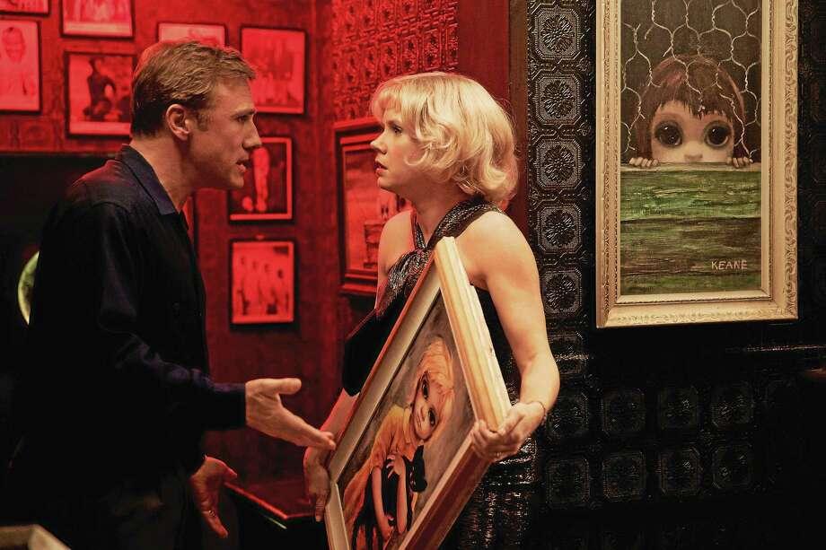 "Christoph Waltz and Amy Adams star in Tim Burton's ""Big Eyes."" Photo: Leah Gallo - The Weinstein Company, AP   / The Weinstein Company"