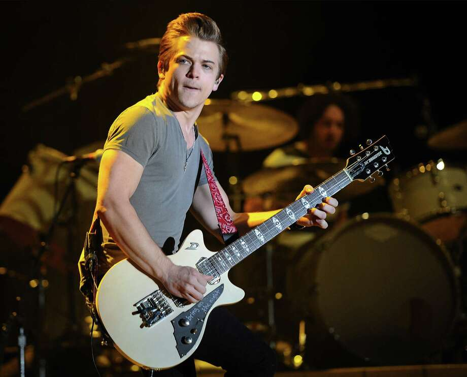 AP photo  Hunter Hayes performs at the 2014 Stagecoach Music Festival in California recently. Photo: Chris Pizzello/Invision/AP / Invision