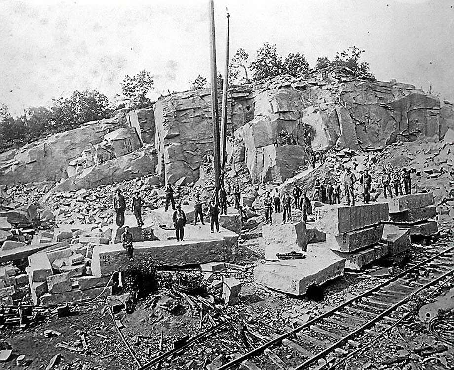 Stony Creek Quarry to display ancient pink granite in Branford - New