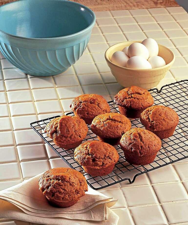 Cranberry-Orange Cornmeal Muffins. Photo: Chris Shorten - Tribune Content Agency
