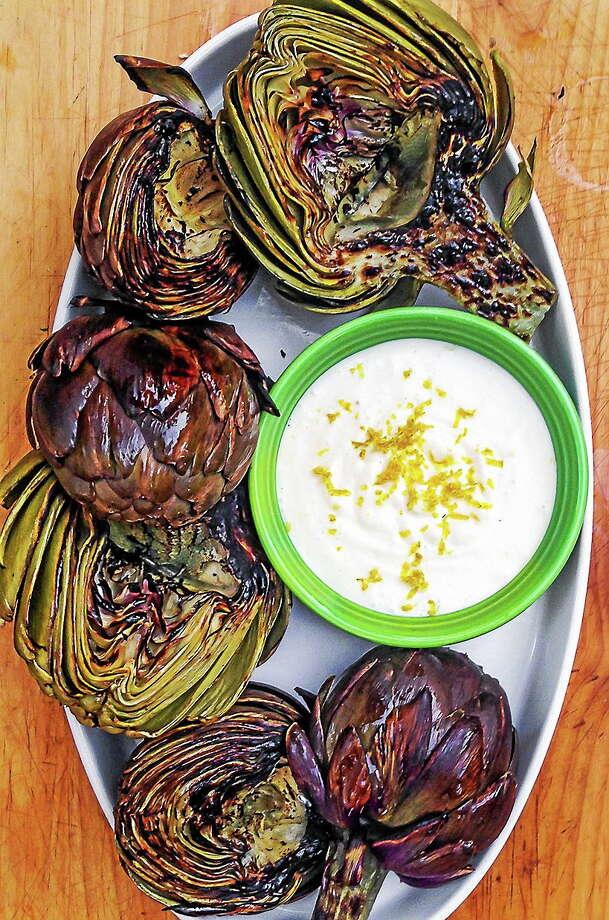 Grilled Artichokes. Photo: Sara Kate Gillingham