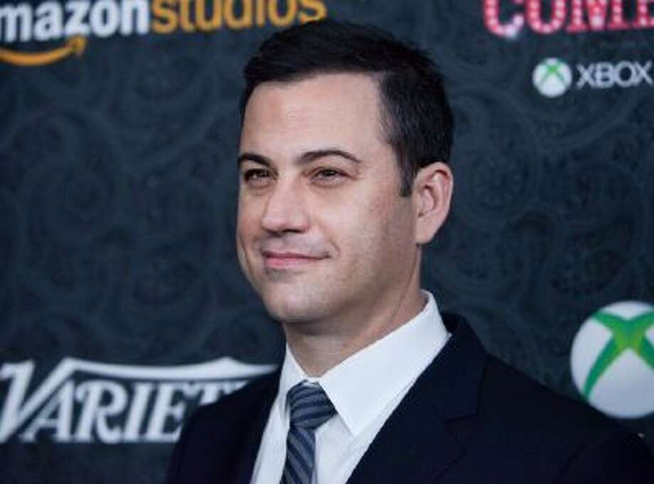 Jimmy Kimmel arrives at the 4th Annual Variety's Power of Comedy Event, Saturday, Nov. 16, 2013 in Los Angeles.