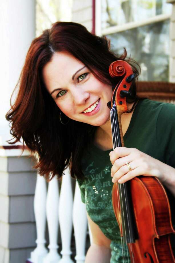 CONTRIBUTED  April Verch's folk tried to discourage her from going into the music business, but that only made her try harder. Photo: Journal Register Co.