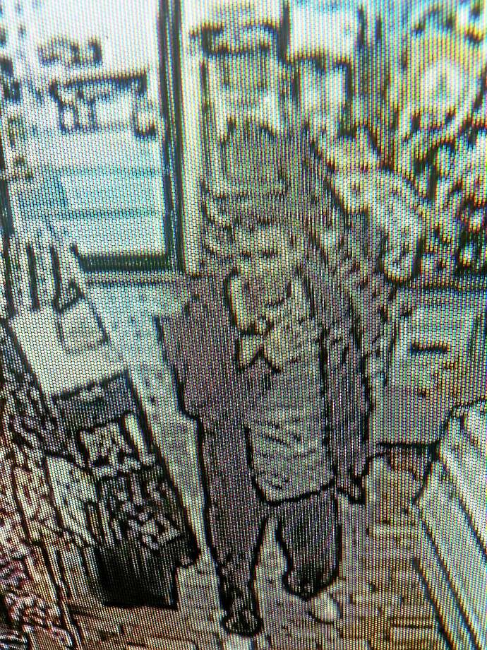 (Courtesy photo) Hamden Police released this survelliance image of a man they say stole nearly $100 worth of items from the Henny Penny Convenience store late Monday afternoon. Photo: Journal Register Co.