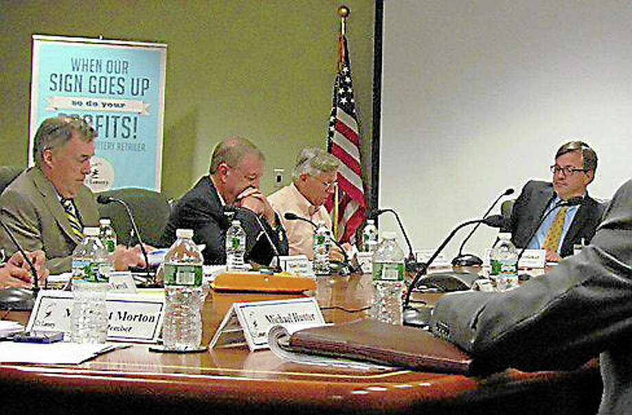 Connecticut Lottery Board of Directors meets at their headquarters in Rocky Hill. Christine Stuart/CT NewsJunkie Photo: Journal Register Co.